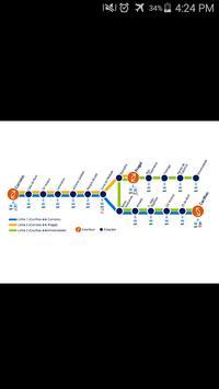 Almada Tram Map poster