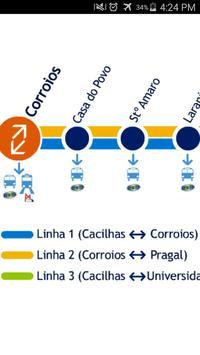 Almada Tram Map apk screenshot