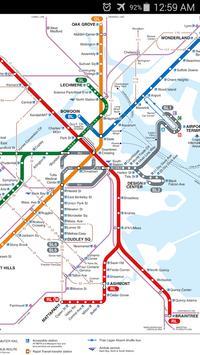 Boston Metro Map screenshot 1