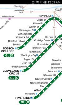 Boston Metro Map screenshot 2