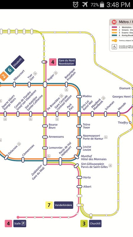 Brussels Metro & Tram Map for Android - APK Download