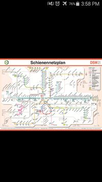 Dortmund Metro Map poster