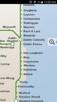 Ireland Rail System Map screenshot 2