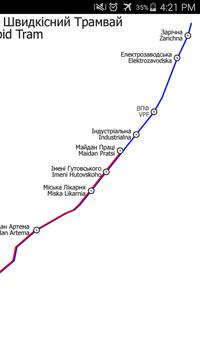 Kryvyi Rih Tram Map apk screenshot