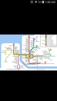 Liverpool Metro Map poster