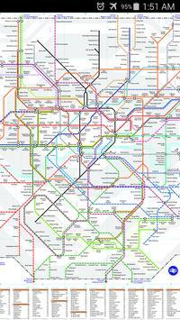 London National Rail Map screenshot 1