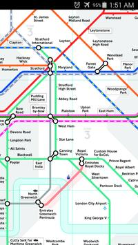 London National Rail Map screenshot 2