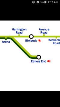 London Tramlink Map apk screenshot