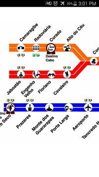 Recife Metro Map apk screenshot