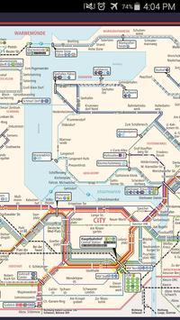 Rostock Metro Map screenshot 1