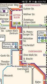 Rostock Metro Map apk screenshot