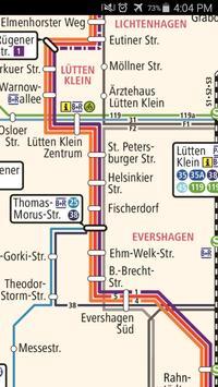 Rostock Metro Map screenshot 2