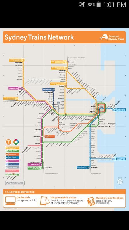 Sydney Metro Map For Android Apk Download