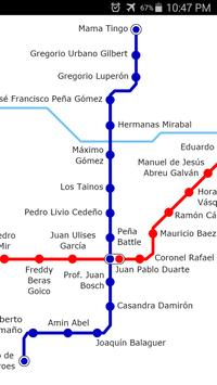 Santo Domingo Metro Map screenshot 1