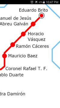 Santo Domingo Metro Map screenshot 2