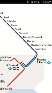 Sardinia Rail Map screenshot 2