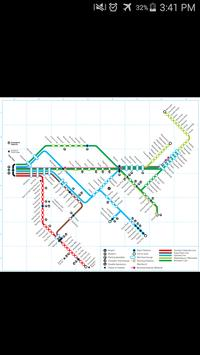 Western Cape Rail Map poster