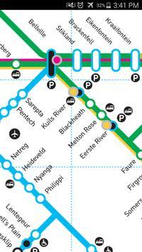 Western Cape Rail Map apk screenshot