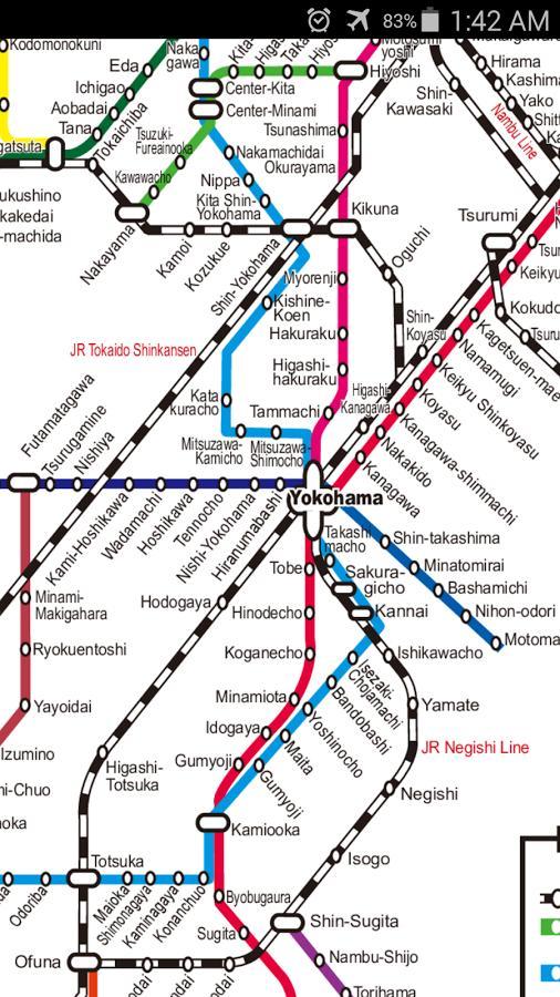 Yokohama Subway Map.Yokohama Metro Map For Android Apk Download