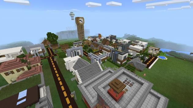 Modern city map for minecraft apk download free entertainment app modern city map for minecraft poster gumiabroncs Images