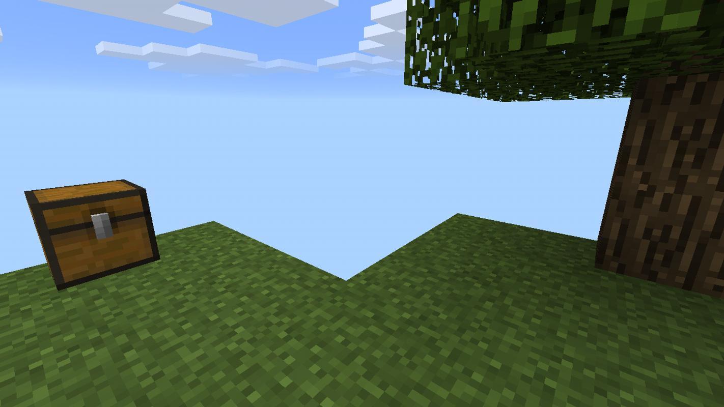 Minecraft sky block скачать