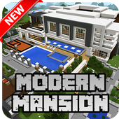 New Modern Mansion Map for Minecraft PE icon