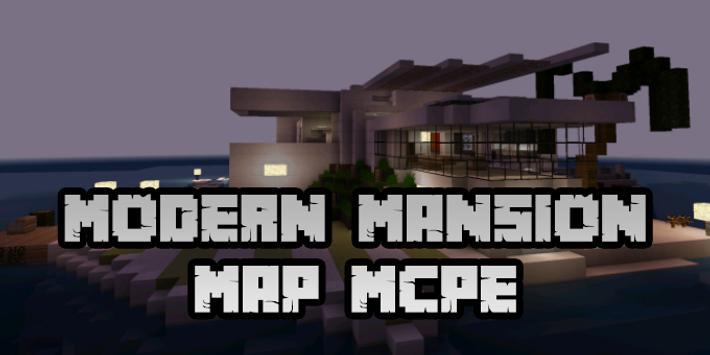 New Modern Mansion Map for Minecraft PE screenshot 3