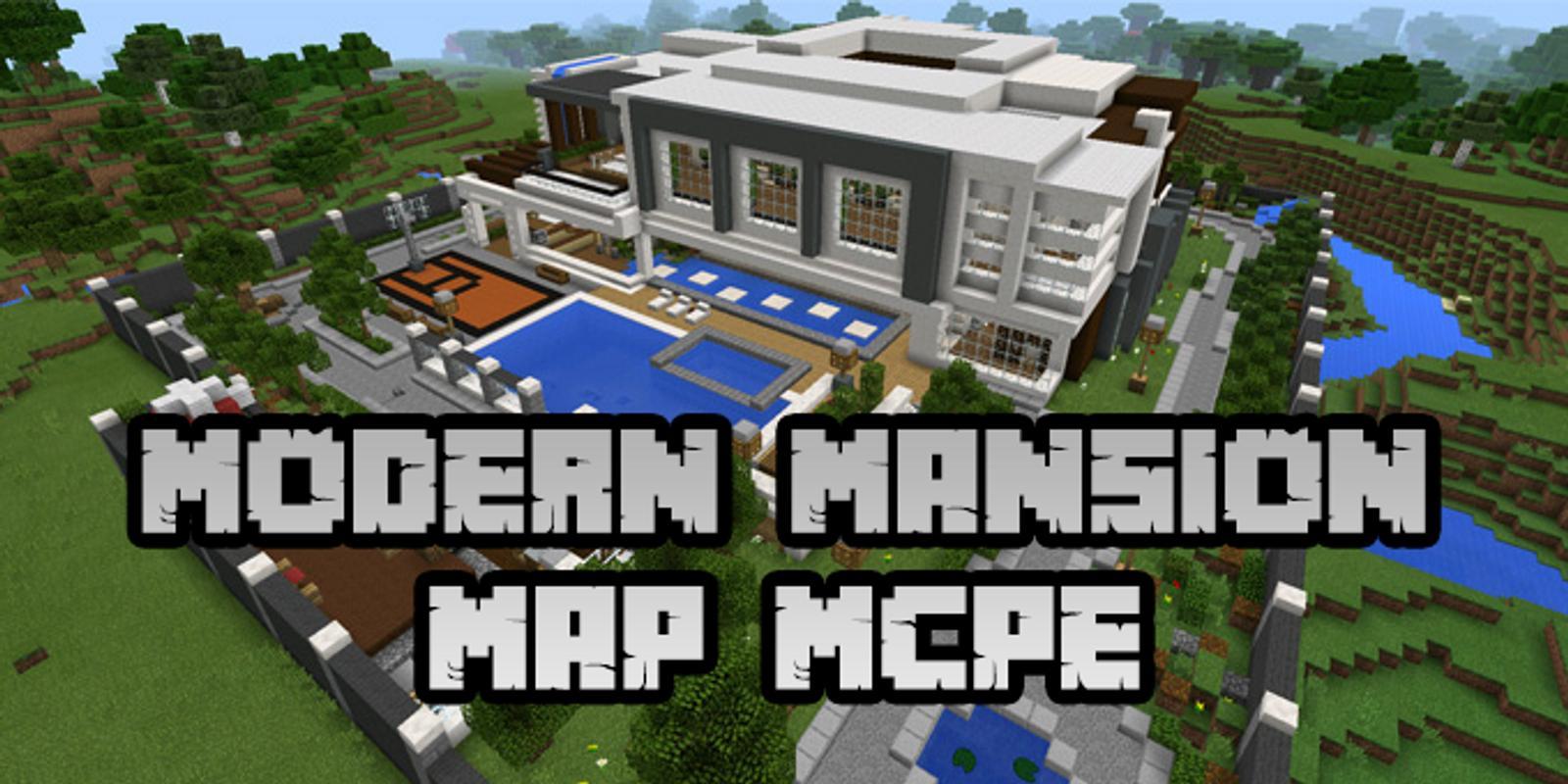 minecraft modern mansions download