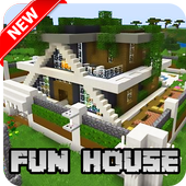 New Fun House Map for Minecraft PE icon