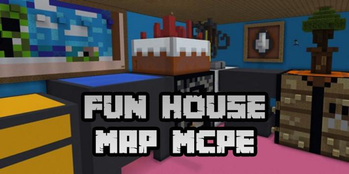 New Fun House Map for Minecraft PE screenshot 3