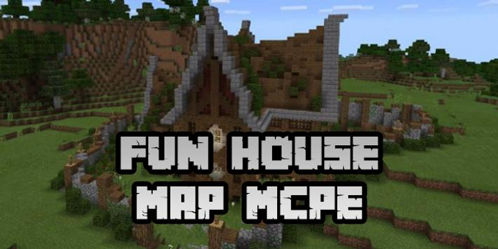 New Fun House Map for Minecraft PE screenshot 4