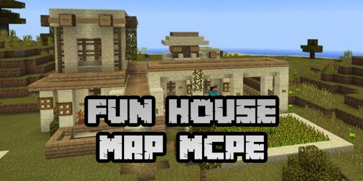 New Fun House Map for Minecraft PE screenshot 5