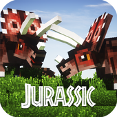 Map Jurassic Craft addon for MInecraft PE icon