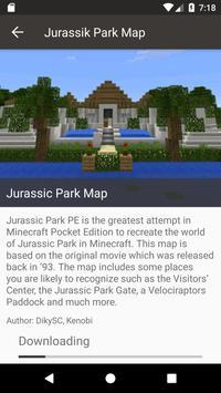 Map Jurassic Craft addon for MInecraft PE apk screenshot