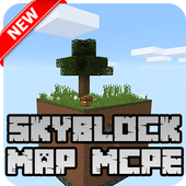New Skyblock Map for Minecraft PE icon