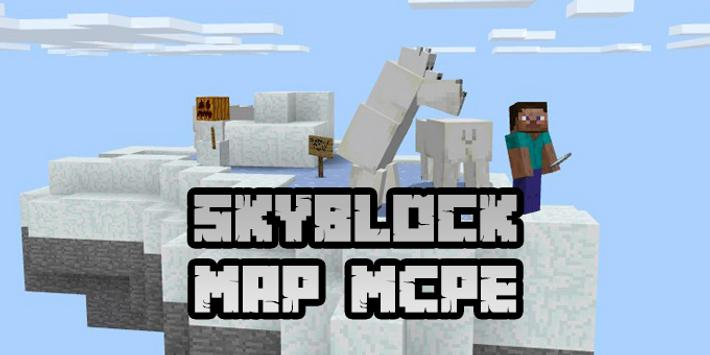 New Skyblock Map for Minecraft PE screenshot 1