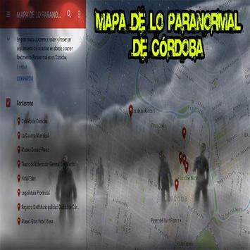 Mapa Paranormal Córdoba poster