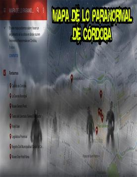 Mapa Paranormal Córdoba screenshot 2