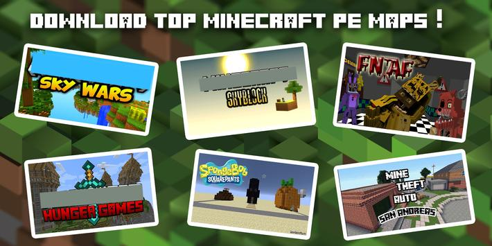 Mapas Para Minecraft PE APK Download Free Tools APP For - Mapas para minecraft pe 0 15 1 en español