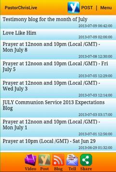 PastorChrisLive screenshot 2