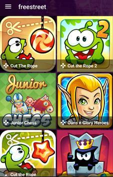 Freestreet Games poster