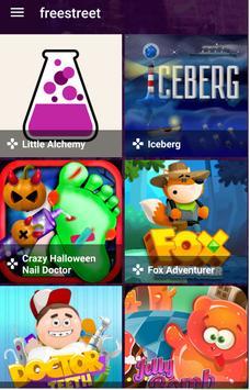 Freestreet Games apk screenshot