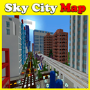 Skyscraper city map for Minecraft PE APK