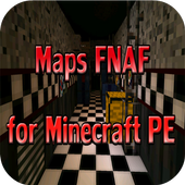 Maps FNAF for Minecraft PE icon