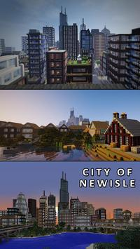 Great Minecraft City Maps poster