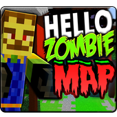 Hello Zombie Minecraft Map icon