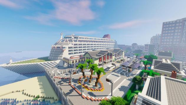 Port vance – minecraft city map APK Download - Free Entertainment ...