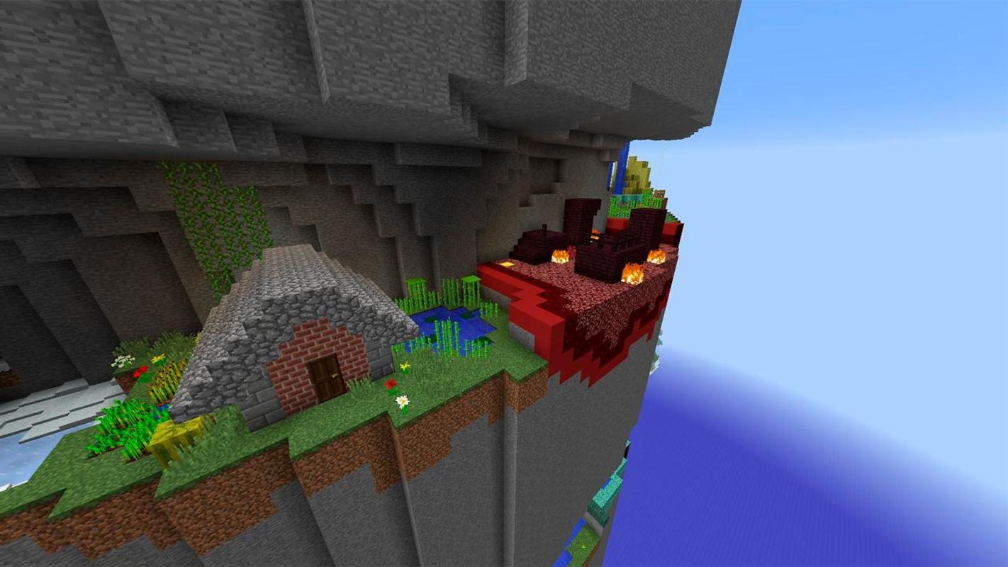 Spiral Parkour Map For Minecraft APK Download Free Entertainment - Mapas para minecraft 1 10 2 de parkour