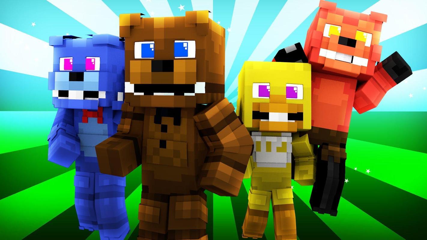 Skins Fnaf For Minecraft PE APK Download Free Entertainment APP - Skins para minecraft pe apk