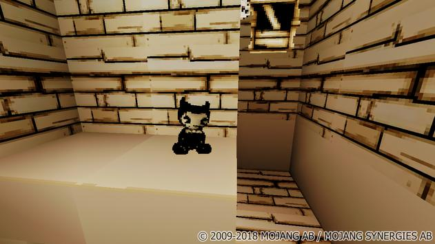 Map Bendy and the Hell Machine-2 for Minecraft screenshot 1